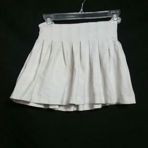 Jacadi Girls White Pleated Skirt Size 10A 140cm
